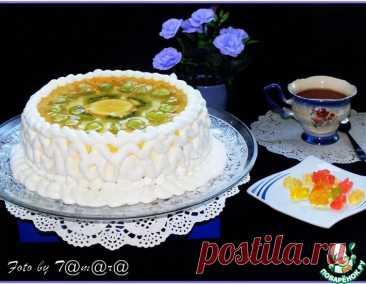 Торт творожный с фруктами – кулинарный рецепт