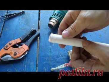 Это пригодится каждому сантехнику и мастеру: делаем резьбу на полипропилене и тестируем.
