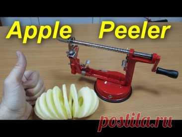 Яблокорезка, Apple Peeler, машинка для чистки и нарезки яблок!
