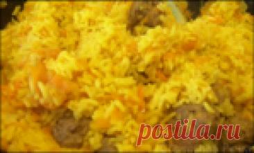 Вкусный и необычный ПЛОВ с фрикадельками - быстрый ужин для всей семьи (и рис варить не надо!)