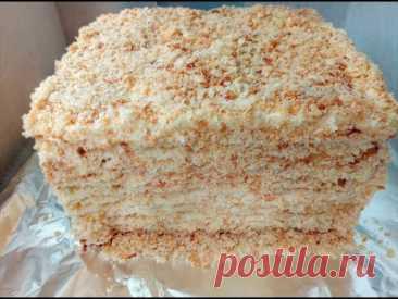 Торт НАПОЛЕОН ☆ Классический рецепт ☆ Наш любимый торт из детства ☆