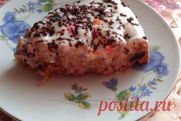 Полезный морковный пирог с бананами и специями рецепт – Испанская кухня: Выпечка и десерты. «Еда»