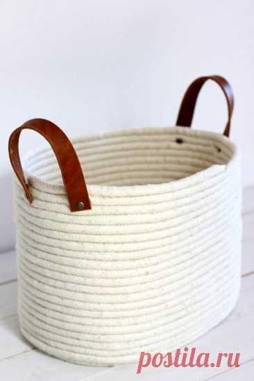 La cesta de la cuerda