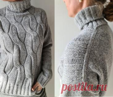 Вязаный свитер Cannelloni | ДОМОСЕДКА