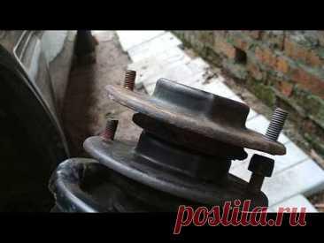 Иж-Ода замена пружин , ремонт стабилизатора.1