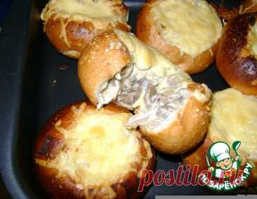 Жюльен в булочке – кулинарный рецепт