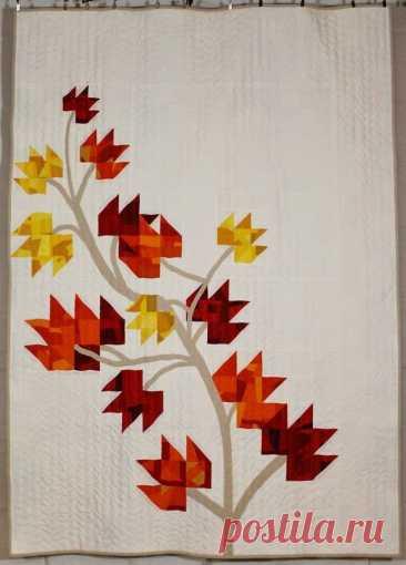 Шьём осенние листья в технике пэчворк! Идеи для творчества.