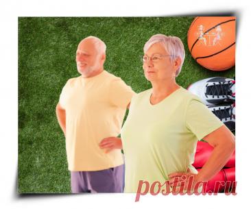 5 простых упражнений, которые помогут сохранить молодость и активное долголетие | Беседы о жизни за чашечкой кофе | Яндекс Дзен