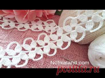 Crochet Easy Lace Ribbon #2 Crochet Tape