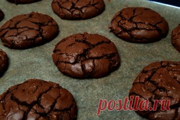 Шоколадное печенье брауни – рецепт с фото