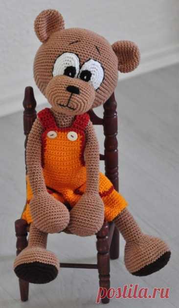Амигуруми - игрушки с теплом и душой - наш лучший выбор !!! ..................Мишка.......................