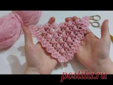 Вязать однотонный узорчатый платок / вязание шали / вязаный шарф / модели шали и как сделать