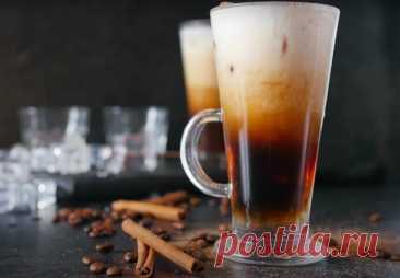 Дублинский айс кофе