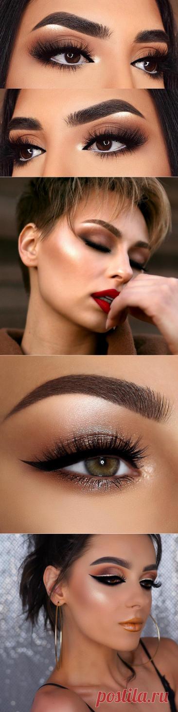 Коричневый макияж: 15 идей для девушек с хорошим вкусом стиля | Новости моды