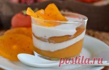 3 простых десерта из хурмы, которые легко заменят праздничный торт | Рекомендательная система Пульс Mail.ru