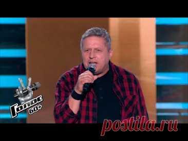 Андрей Фетисов «Stumblin' In» - Слепые прослушивания - Голос 60+ - Сезон 4