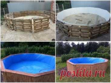 Каркасный бассейн на даче – водные развлечения без ограничений