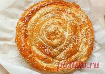 (1) Турецкий Бурек - пошаговый рецепт с фото. Автор рецепта Юленька Якунина . - Cookpad