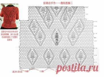 ажурный жакет крючком японское вязание: 2 тыс изображений найдено в Яндекс.Картинках