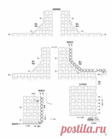 Схема безрукавки, 27 моделей с описанием и видео - уроками
