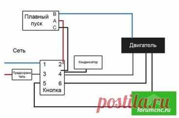 плавный пуск к Циркулярный станок ЗУБР ЗПДС-255-1500 схема подключения: 864 изображения найдено в Яндекс.Картинках