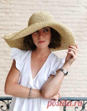 Когда проф.вязальщица раскрыла мне эти секреты, я сразу поняла, почему мои шляпы и сумки из рафии такие кривые. Рассказываю.   Первый вязальный!   Яндекс Дзен
