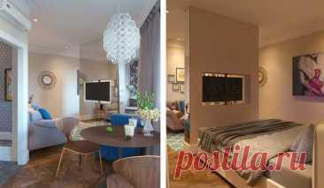 Телевизор в дизайне интерьера - Мебель, интерьер