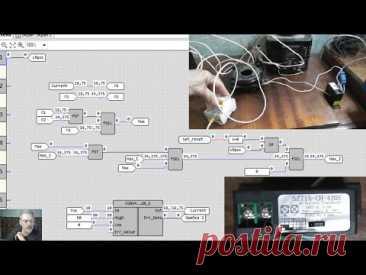 Программа максиметра для Овен ПР200, измерение тока срабатывания отсечки автоматов