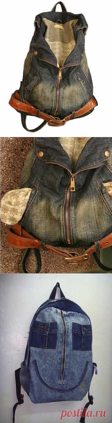 Las mochillas (elección) jeans \/ las Bolsas, klatchi, las maletas \/ el sitio A la moda sobre el rehacimiento de estilo de la ropa y el interior