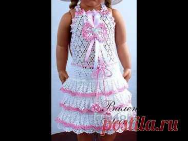 Crochet Patterns  free  crochet baby dress  3660