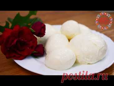 Сыр МОЦАРЕЛЛА Простой Рецепт в Домашних Условиях БЕЗ ЗАКВАСКИ. Вкусно и Натурально