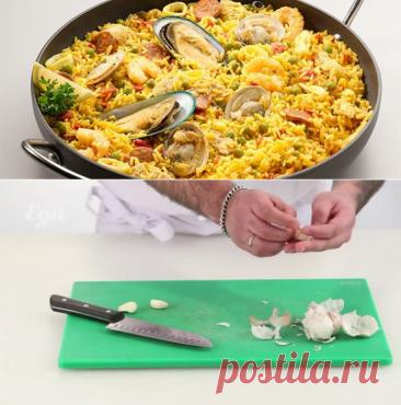 Испанская паэлья рецепт – испанская кухня: основные блюда. «Еда»