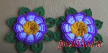 Вязаный Крючком Цветок Розита