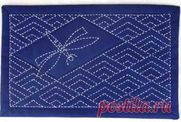 Японская вышивка сашико: казалось бы так просто, а смотрится красиво | Мои непослушные крестики | Яндекс Дзен