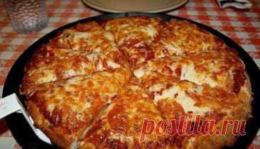 Самая быстрая Пицца, приготовленная на сковороде всего за 10 минут