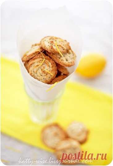 Лимонное печенье с маком. - Wise — ЖЖ