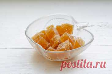 Апельсиновый мармелад (желейные конфеты) рецепт с фото пошагово