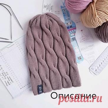 Шапки спицами на зиму- 3 идеи | NataliyaK | Яндекс Дзен
