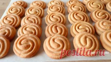 Необычный способ формирования печенья: просто и красиво