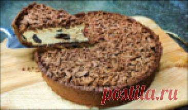 ОЧень серьёзный конкурент тортам и чизкейкам: Королевский шоколадный пирог с творогом.
