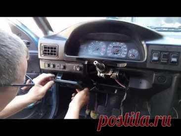 Как снять  переднюю панель иж 2126