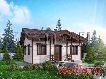 Самые маленькие каркасные дома (до 60 кв.м) - смотрите дома, доступные каждому | АртСтрой | Яндекс Дзен