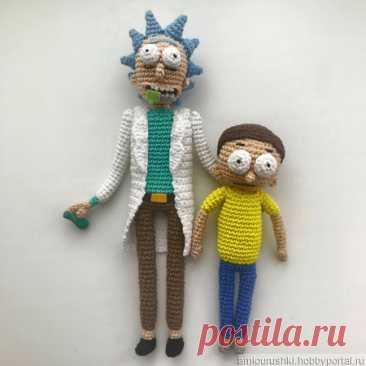 Схема и описание Рик и Морти (вязание крючком) – купить в интернет-магазине HobbyPortal.ru с доставкой