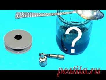 Самое дешевое хромирование металла, в мастерской! Сделай сам своими руками! Workshop - YouTube