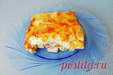 Мясо по-французски классический рецепт с сыром и картошкой
