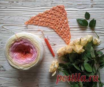 Подборка схем для вязания шалей крючком - блог экспертов интернет-магазина пряжи 5motkov.ru