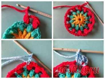 Вязание мандалы своими руками — Сделай сам, идеи для творчества - DIY Ideas