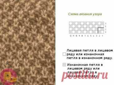 Пуловер оверсайз связанный жемчужным узором