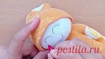 Кукла из носков