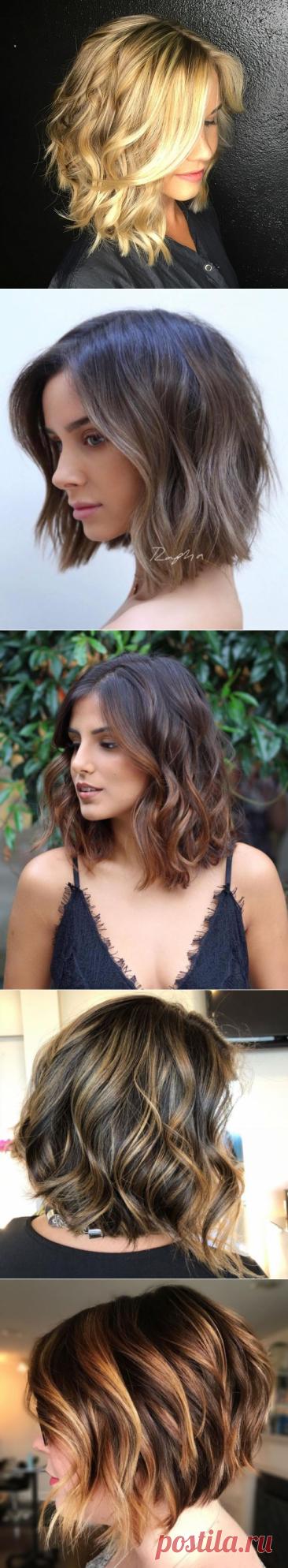 Волнистый Боб – стрижка, которая добавит женственности и привлекательности | Новости моды
